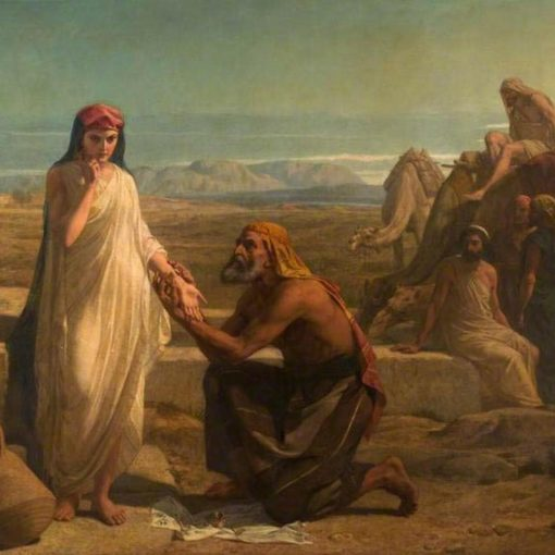 mariage isaac rebecca genese bible