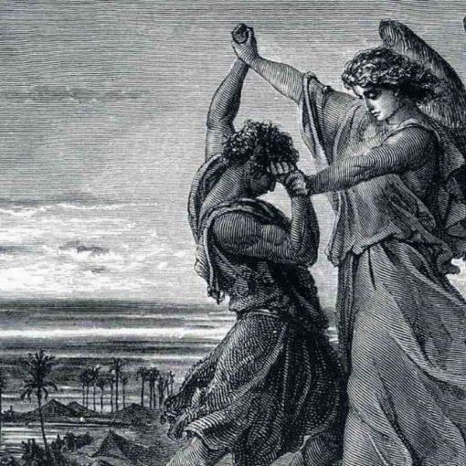 jacob lutte avec l'ange de l'Eternel Dieu Bible Genèse 32