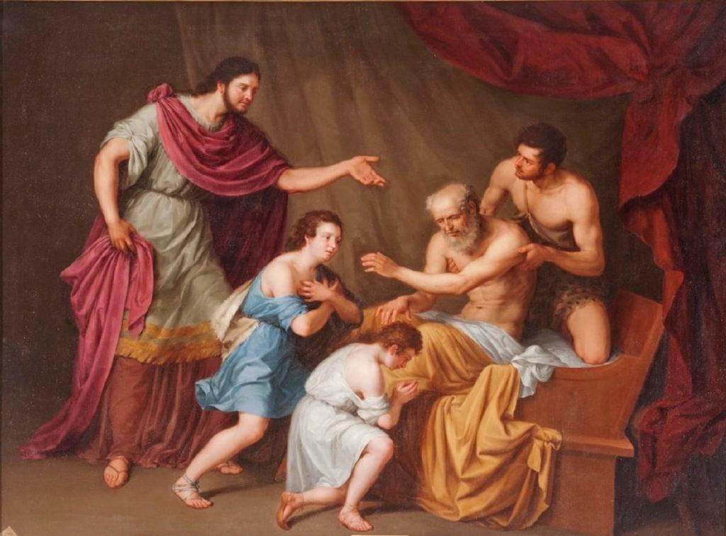 jacob benediction ephraim manasse bible genese 48