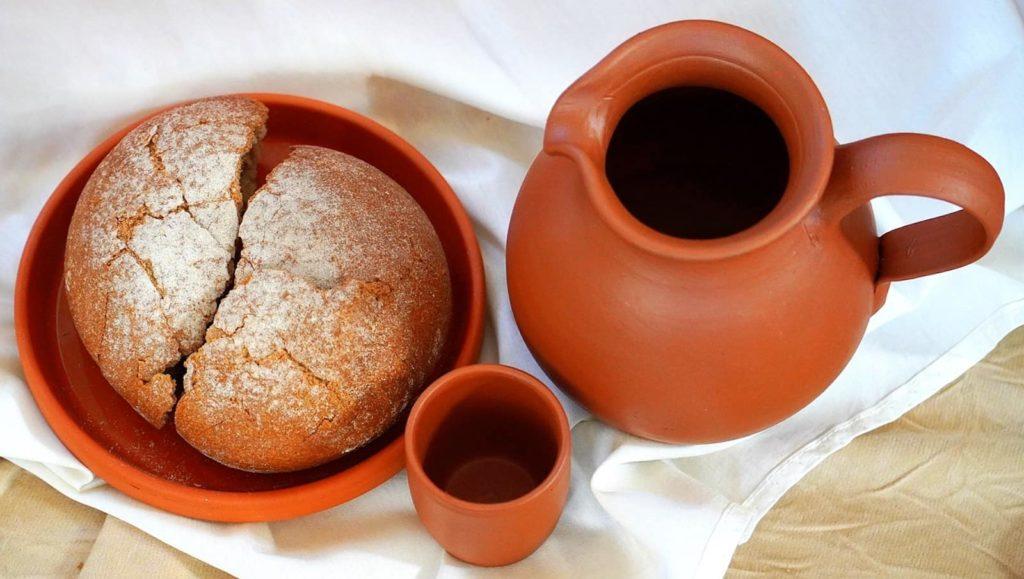 jesus pain vin symbole sainte cene bible genese joseph