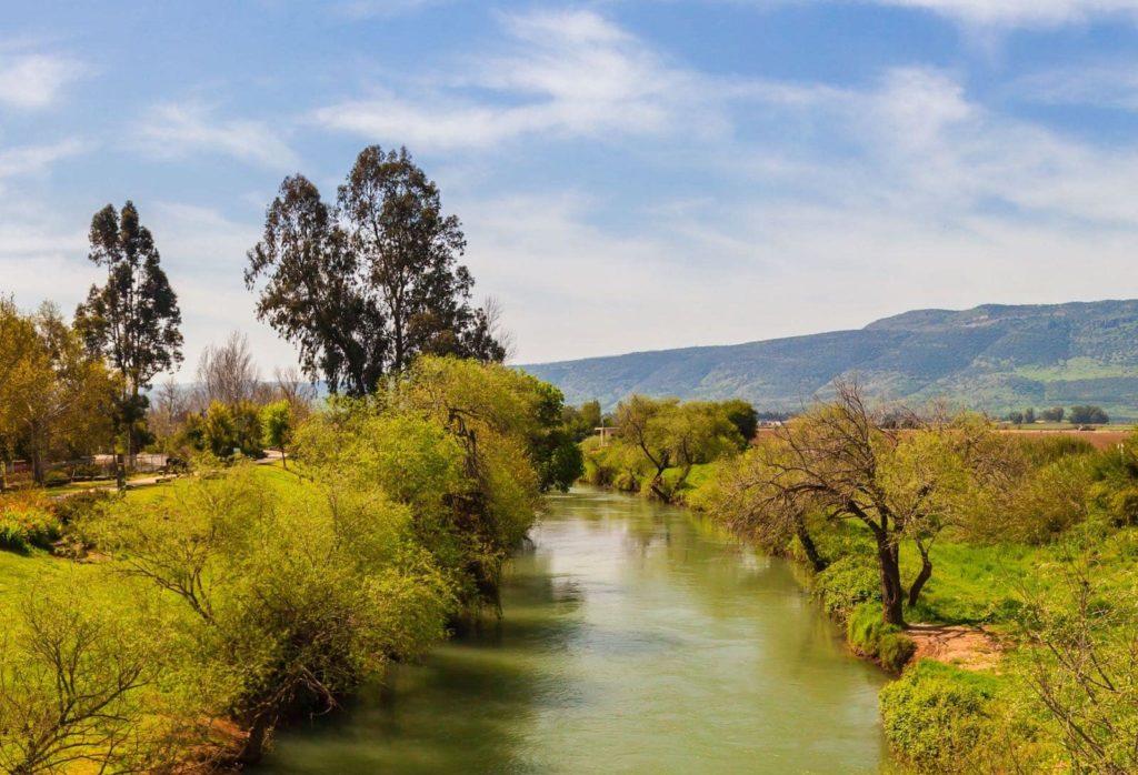 riviere jourdain josue israel bible
